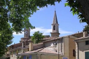 Le village de Loriol du Comtat